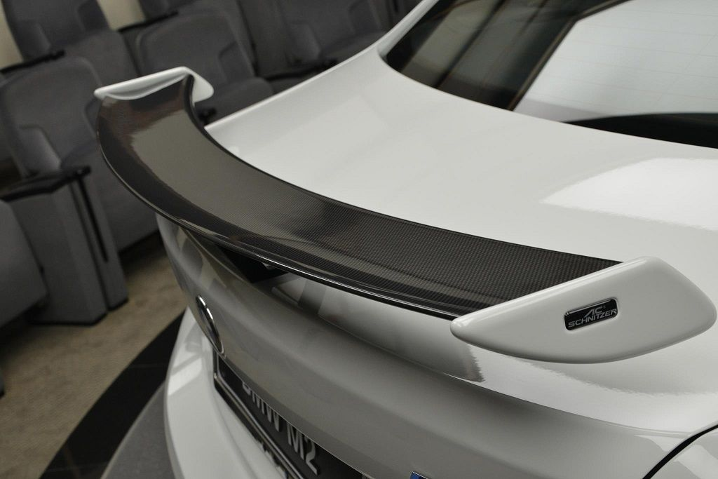 Carbon Fibre Racing Rear Wing For Bmw M2 F87 From